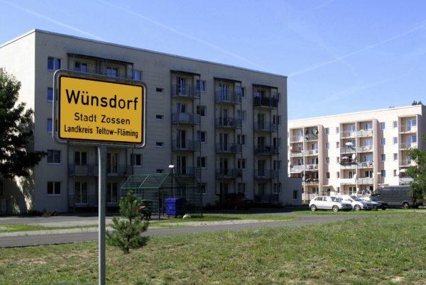 Tempat bebas pajak Jerman: Beberapa perusahaan Merckle beroperasi di Wünsdorf di Zossen.
