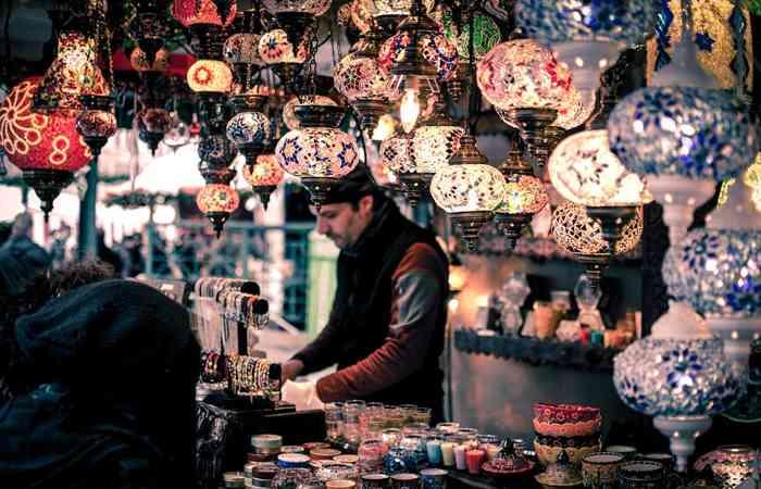 Basar, ausländische Waren, Verkauf