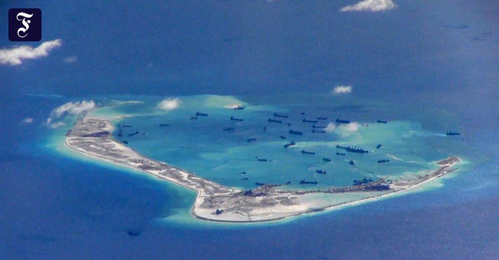 India mencoba menunjukkan perbatasan China
