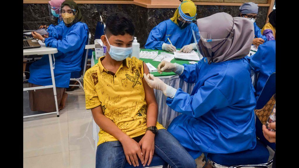 Vaksinasi anak di Asia Tenggara: 'Kaum muda membutuhkan perlindungan'