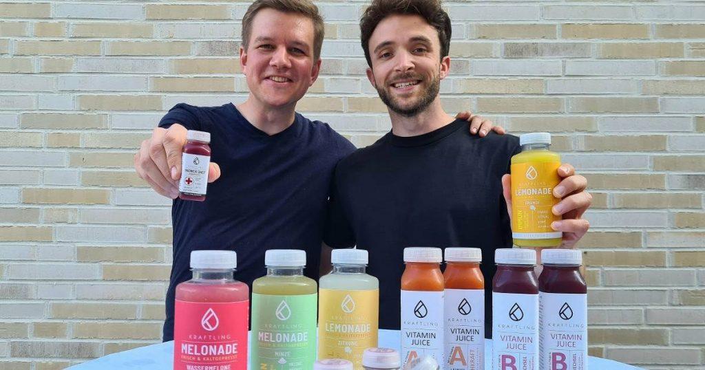 "Startup Büderich ""Kraftling"" memproduksi minuman jahe"