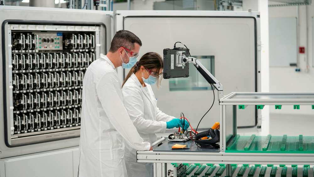 Laboratorium Baterai Volkswagen di Salzgitter