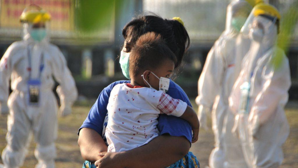 Corona di Asia Tenggara: Anak-anak yang menderita
