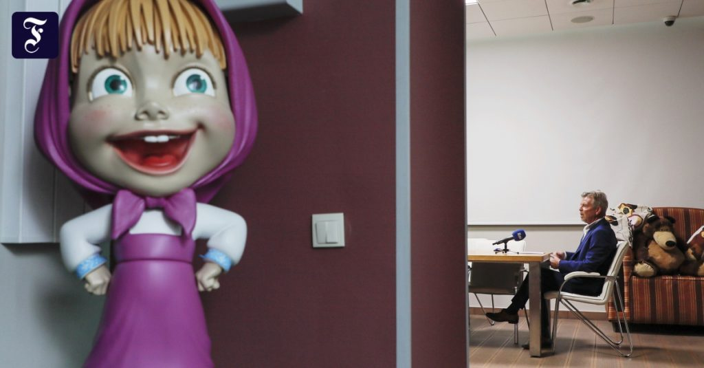 Serial animasi Rusia menaklukkan dunia
